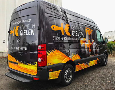 Carwrap Painting business Kennth Gielen