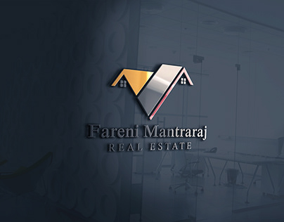 Fareni Mantararaj Real Estate Logo Design