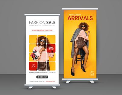 Roll-Up Banner Design..