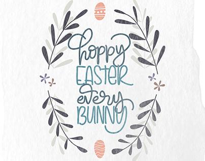 Hoppy Easter Every Bunny