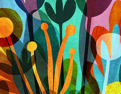 Flower Faces/ Cvetolici