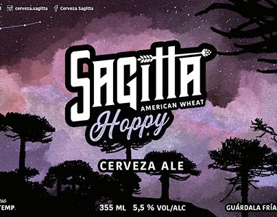 ETIQUETA Sagitta Hoppy American Wheat