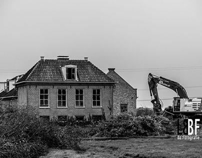 Demolition Farms/Houses Rijksweg Muiden