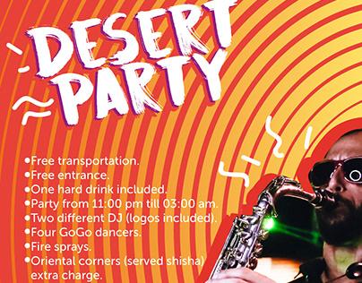 Makadi desert party