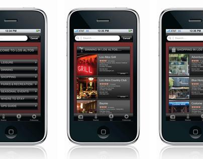 City of Los Altos — Mobile Application Design