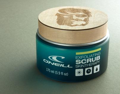 O'Neill SPF Skin Care Line — Packaging