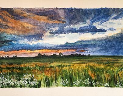 Watercolor challenge