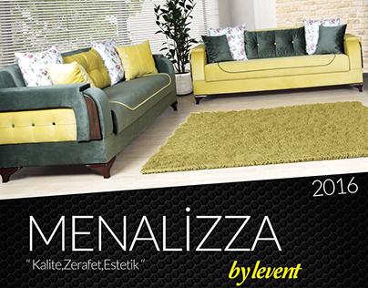 Menalizza Furniture Catalogue Design