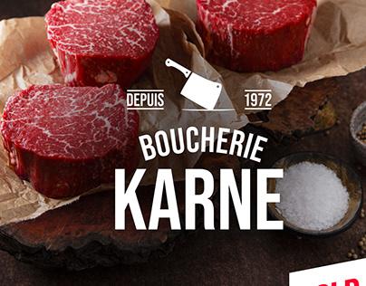 Logo Boucherie Charcuterie Traiteur KARNE