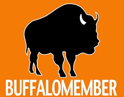 Buffalo logo animation