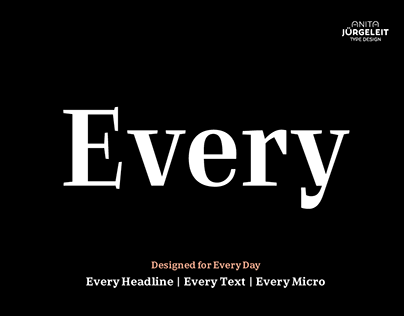 Every Type Family — Designed for Every Day