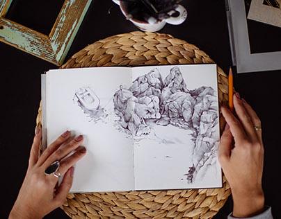 Montenegro sketchbook