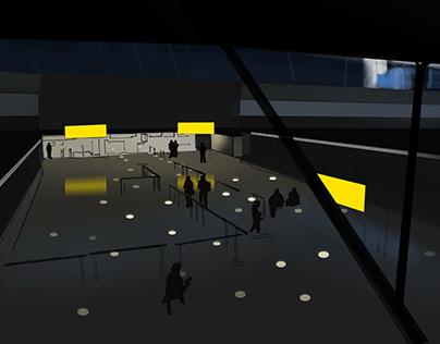 Lighting Design for Schiphol