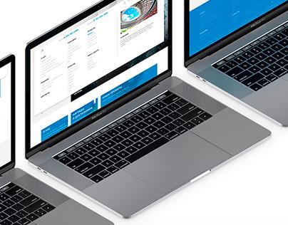 web — main page Asteros