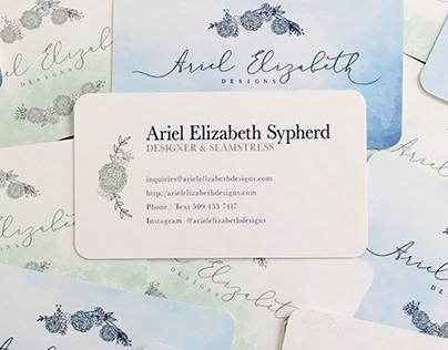 Ariel Elizabeth Designs: Branding