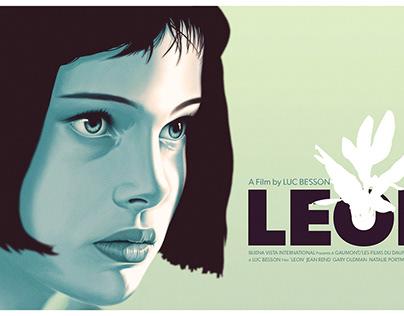 Leon - Alternative Movie Poster