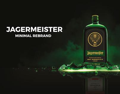 Jägermeister Minimal Rebrand