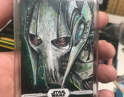 General Grevious Topps Star Wars Chrome Legacy AP