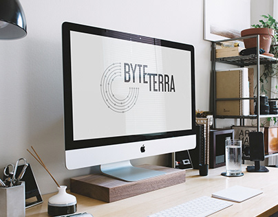 Byte Terra logo versions