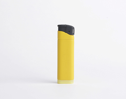 Lighter with soft bottom