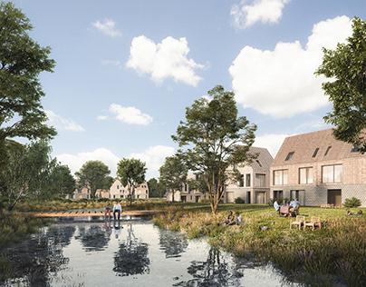 Residential area in Denmark