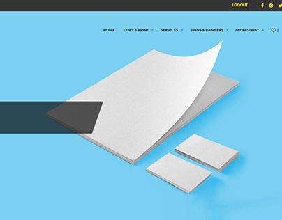 Fastway Printing Website
