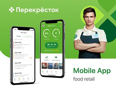 Market Profit. Food retail mobile app