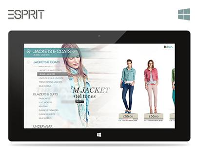 Esprit Windows 8 Application
