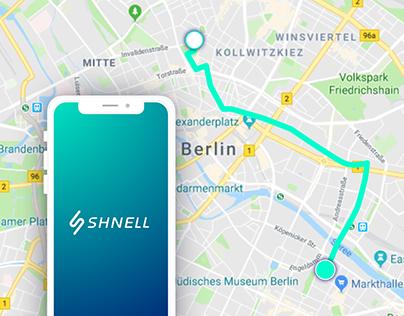 ⚡Shnell: Mobility App & Branding