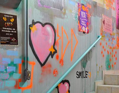Revitalização | Instituto de Dança - Escadas