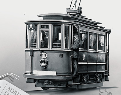Illustrated history of trams from my hometown - Oradea