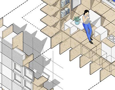 Modular Housing Unit - MICROHOME2020