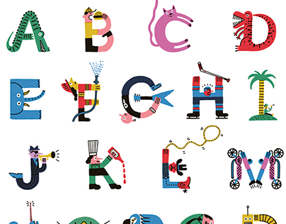 Alphabet / Paperole