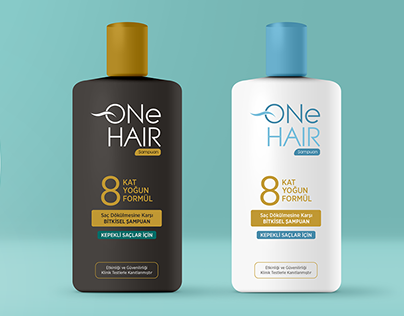 onehair logo ve ambalaj / onehair logo and pac