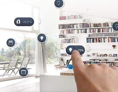 Responsive home automation app design