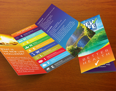 The New Life Challenge Branding and Collateral
