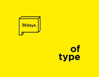 36 Days Of Type #04