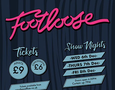Footloose Poster + Programme