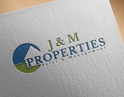 Branding Design of J & M Properties