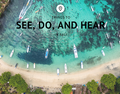 Things to See, Do, and Hear in Bali | Shane Krider