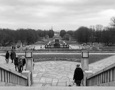 Oslo in Black and white
