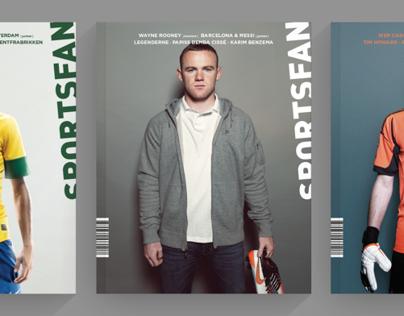 Sportsfan - Magazine Redesign