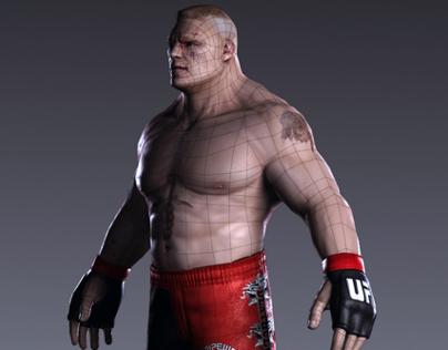 Brock Lesnar / Game Model