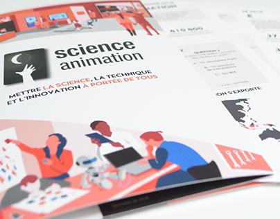 RA 2018 Science Animation - Graphisme