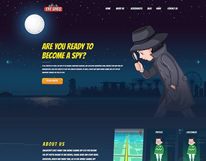Eyespies Game Website