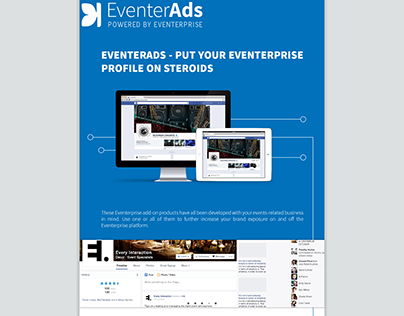 Eventerprise Product service Landing page