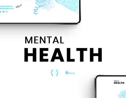 Mental Health Website Concept