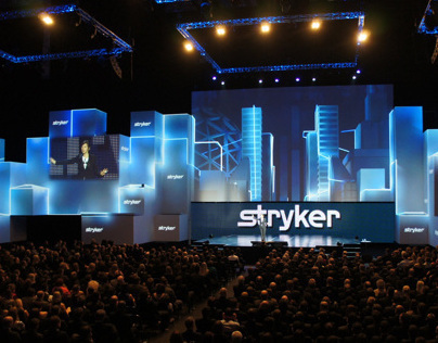 Stryker 2012 Projection Mapping