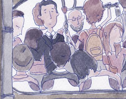 No se admiten pasajeros de pie