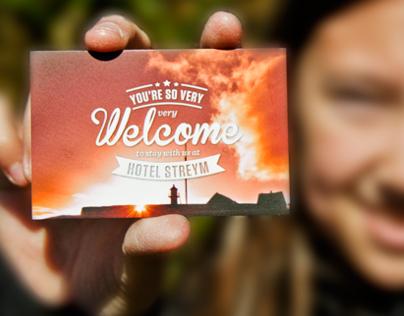 Hotel Streym - business cards